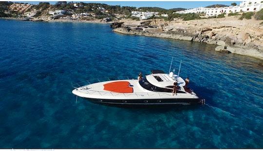 Baia Aqua 54 Ft, Discover The Joy Of Boating In Ibiza And Formentera, Spain!