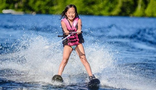 Water Skiing Lesson In Aluthgama, Sri Lanka
