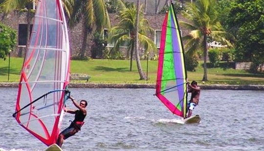 Windsurfing Lesson With Professional Instructor In Aluthgama, Sri Lanka