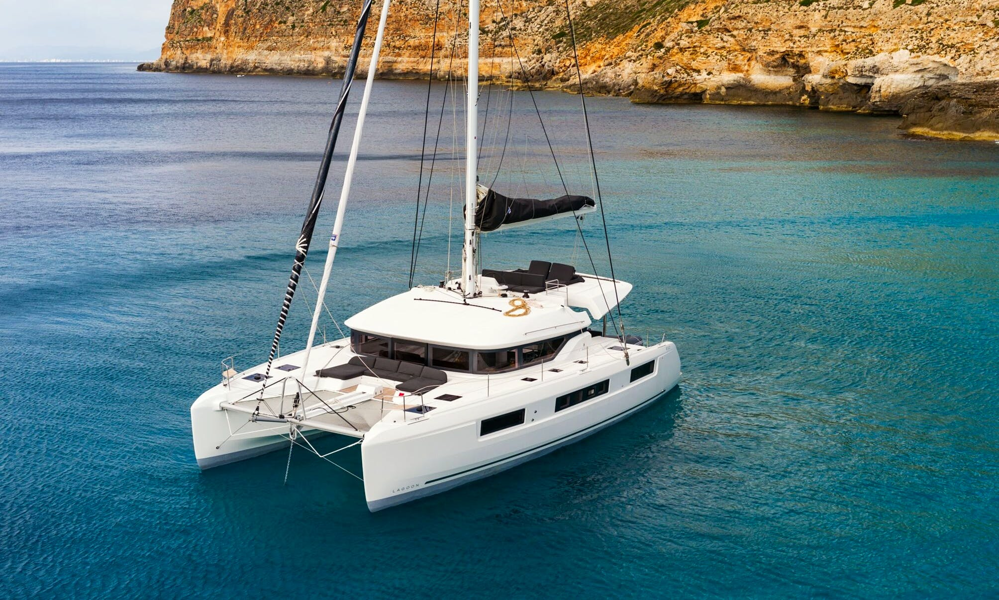Go Sailing in Ibiza and Formentera, Spain on 50ft  Lagoon Cruising Catamaran!