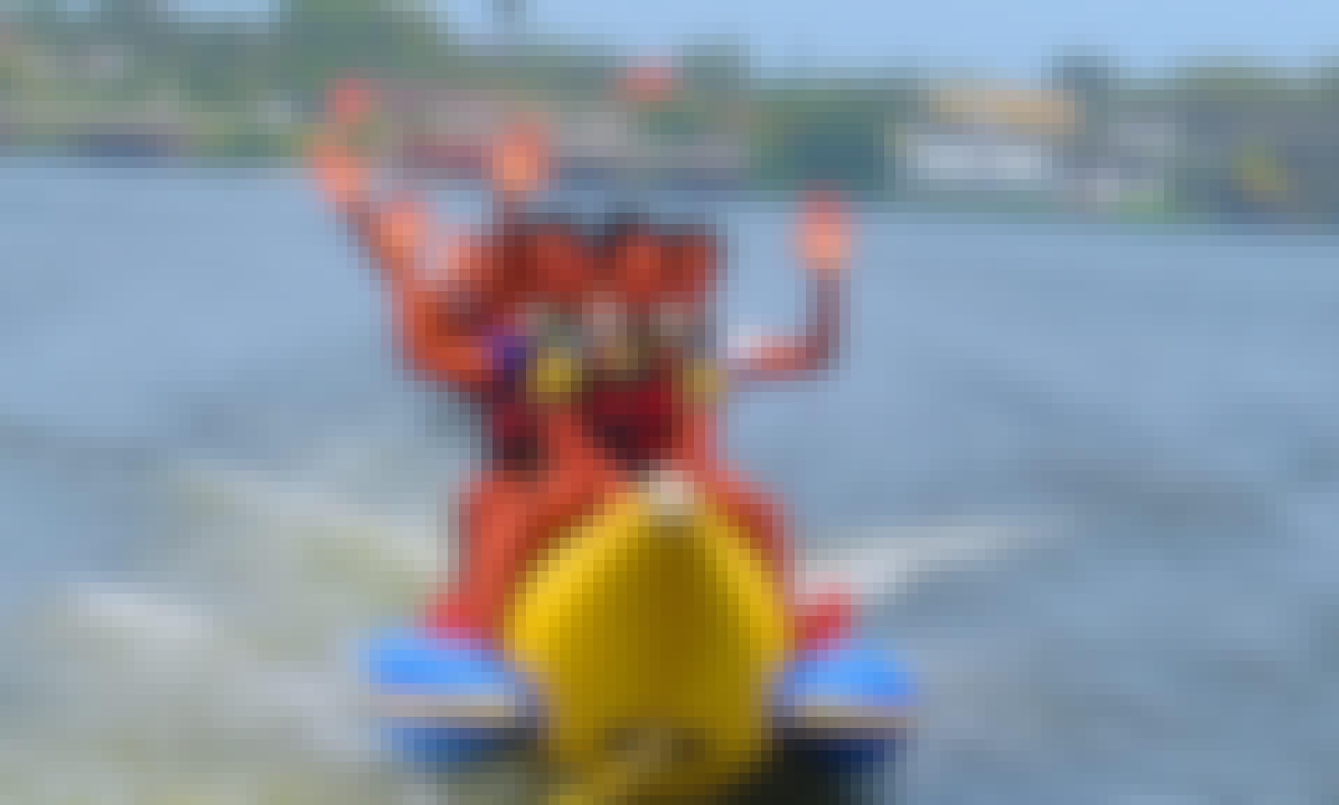 Enjoy The Water On A Banana Boat Ride In Aluthgama, Sri Lanka