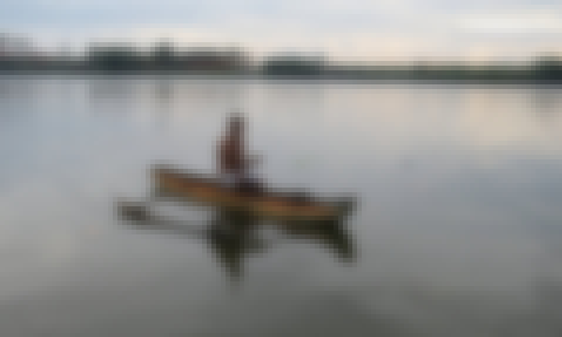 Experience a Calm Steady Paced Touring in Aluthgama, Sri Lanka! Reserve a Canoe!