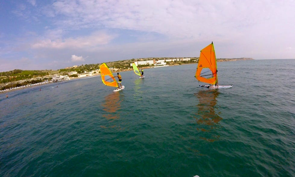 Windsurfing Lessons in Mellieha