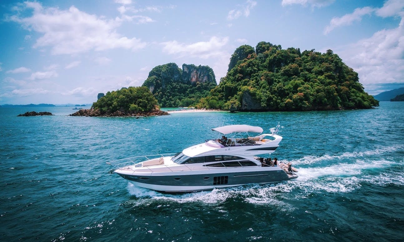 Charter Princess 60' Motor Yacht rental in Phuket