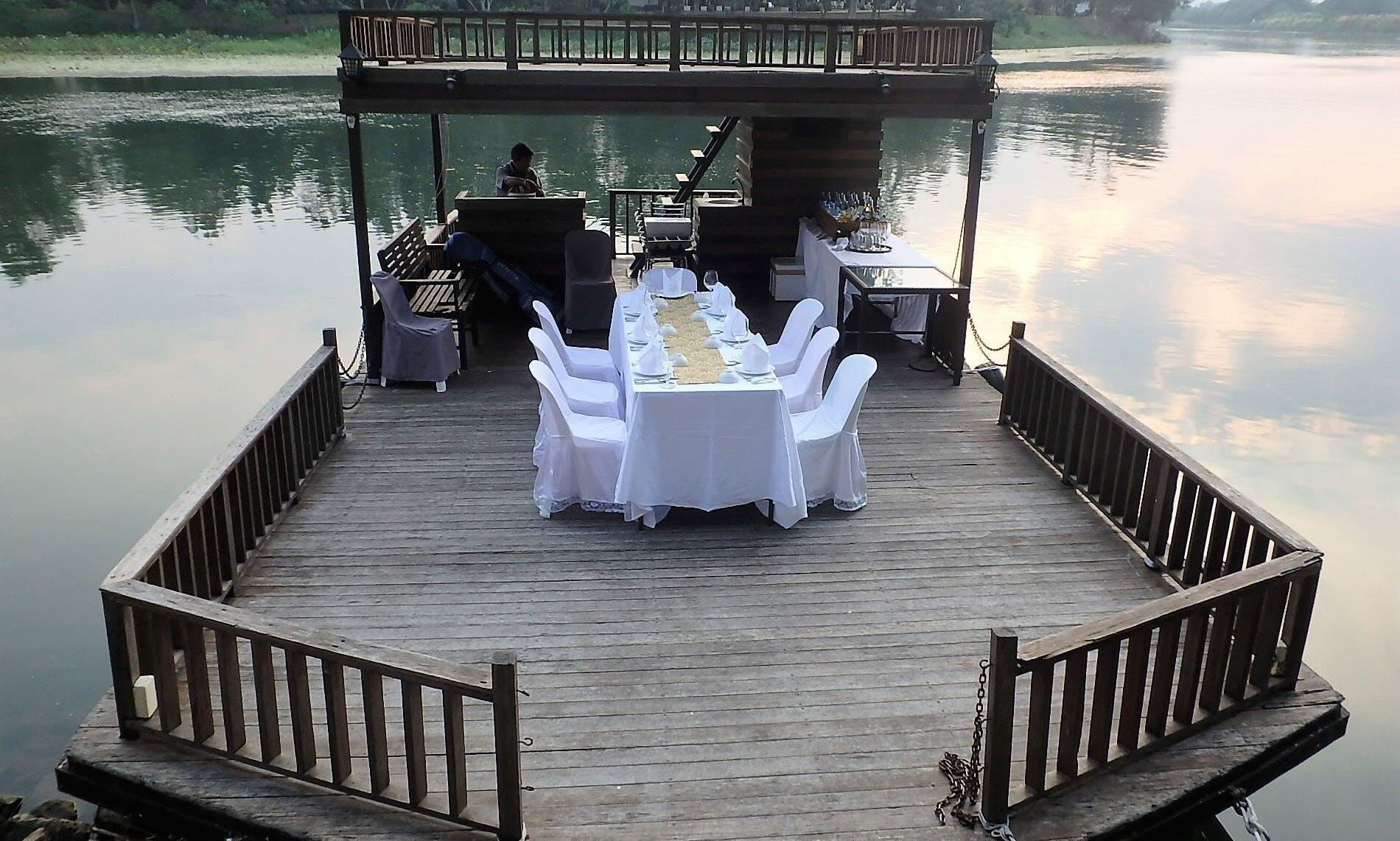 Memorable Private Dinner Cruise in Kanchanaburi, Thailand