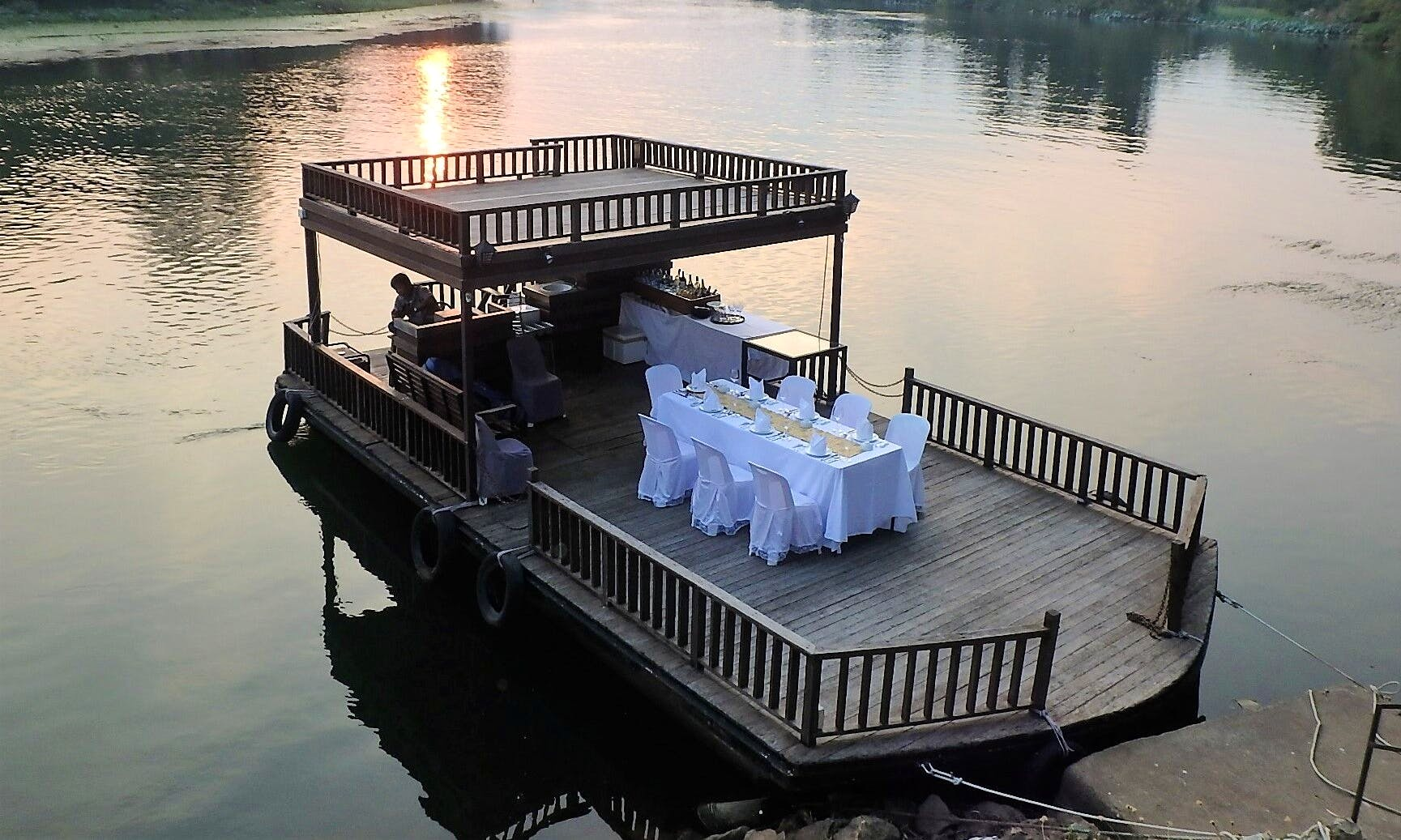 Memorable Private Dinner Cruise in Kanchanaburi, Thailand