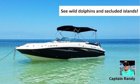 Enjoy This Very Comfortable 24' Hurricane Deck Boat