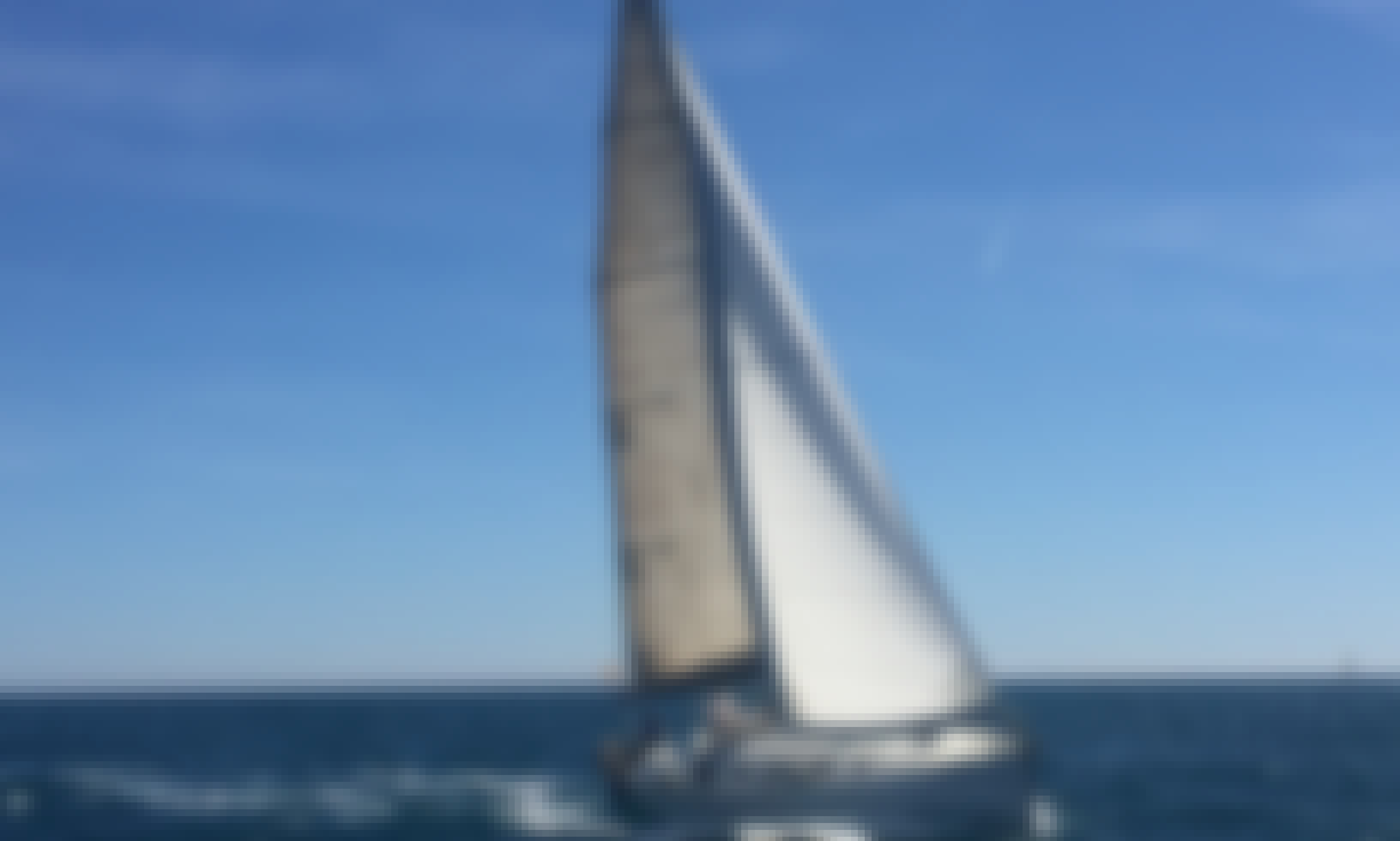 Exclusive sailing boat in Barcelona
