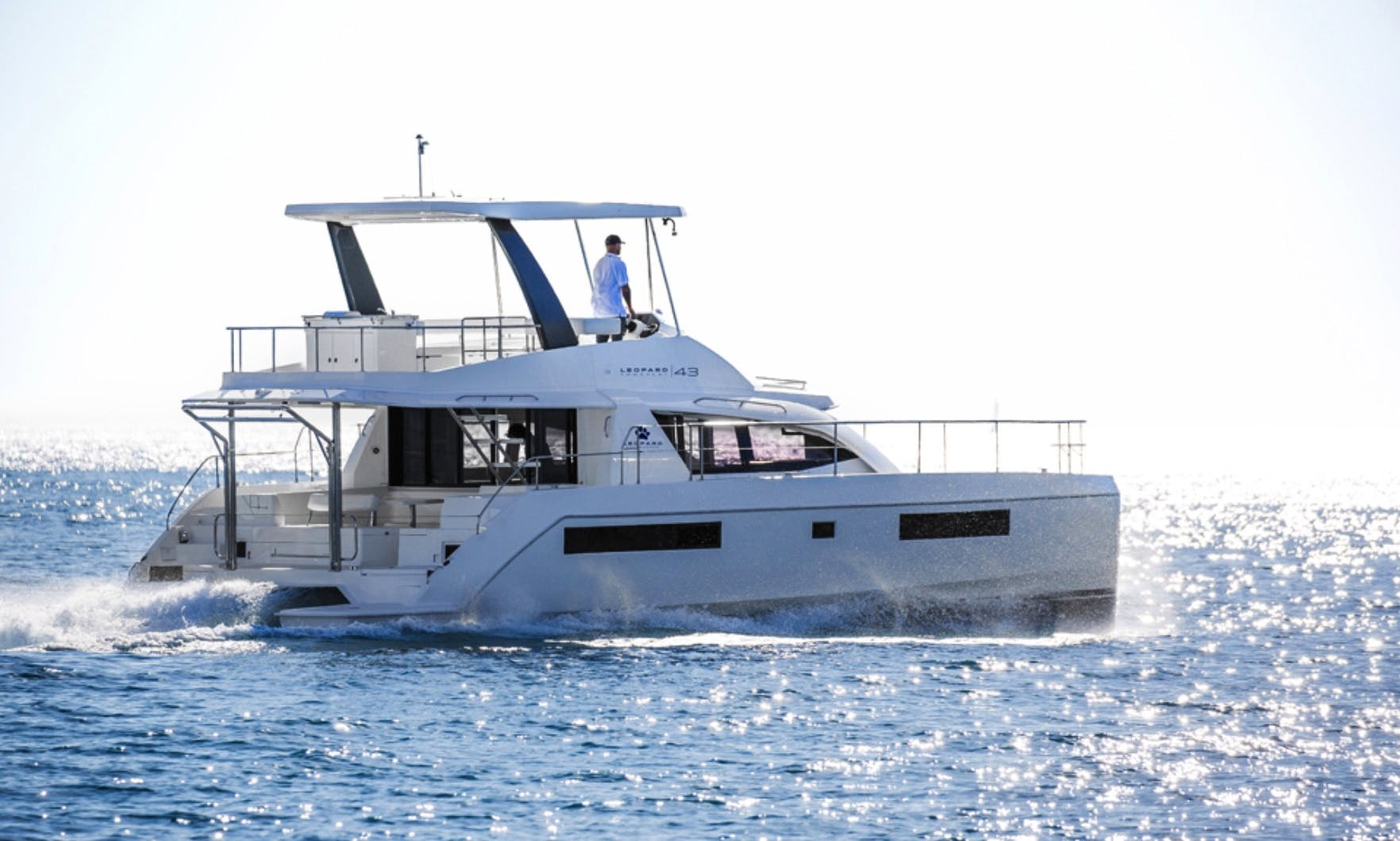 Leopard 43 PC Power Yacht Catamaran in Cartagena, Colombia