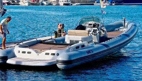 Mega Rib Boat, Ultimate Speed Powerboat Experience In Ibiza, Spain