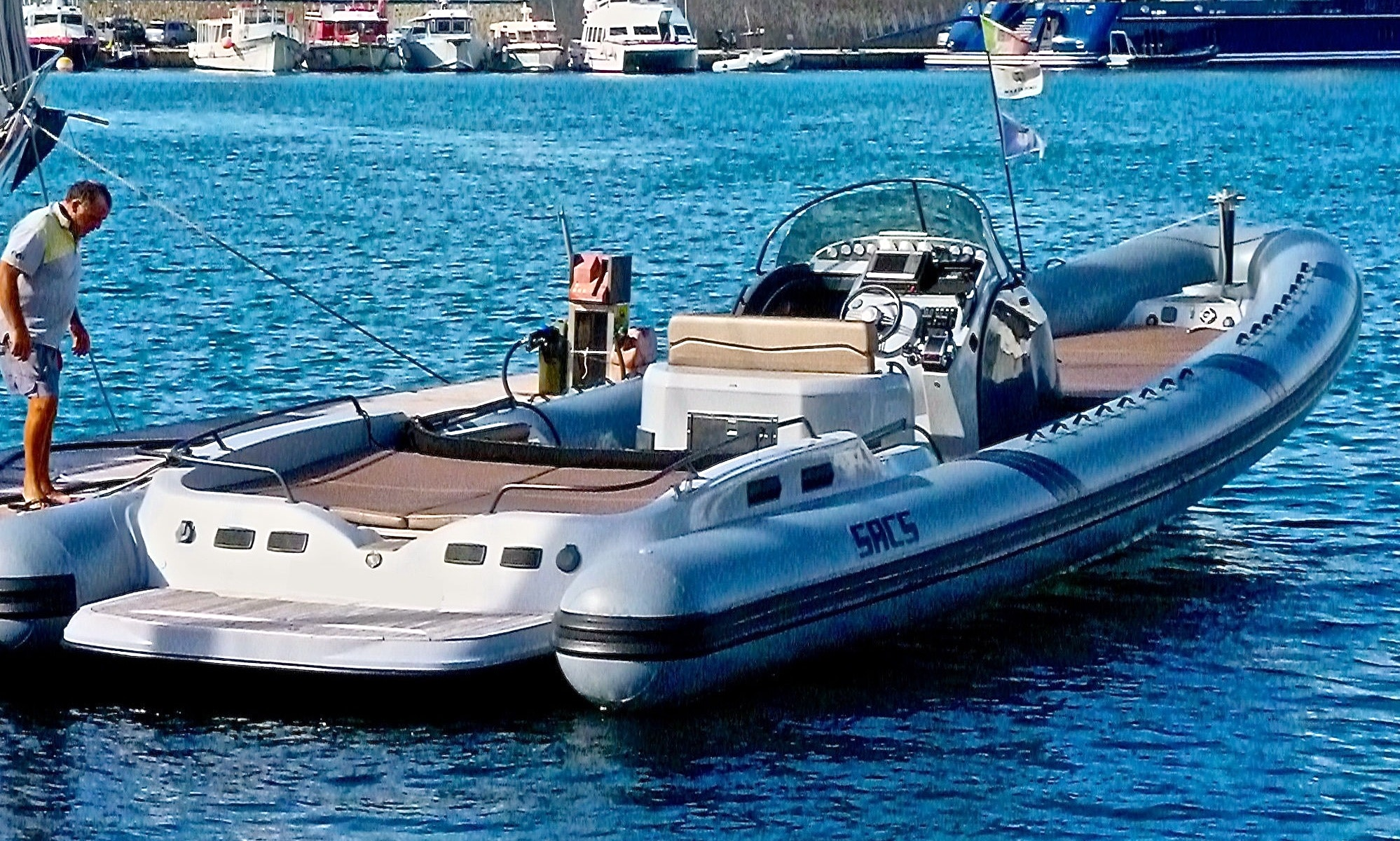 MEGA RIB BOAT, Ultimate Speed Powerboat Experience in IBIZA