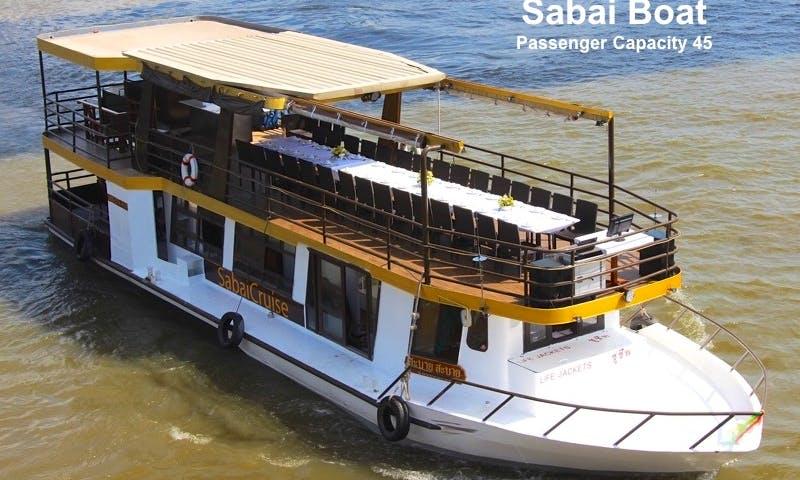 Charter Sabai Private Party Boat in Bangkok