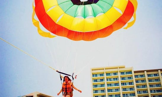 Experience The Puerto Vallarta Parasailing Adventure Of A Lifetime!