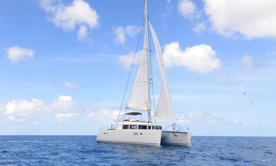 Half Day To Full Day Bareboat Sailing Catamaran Charter For 6 Guests In St. Barths