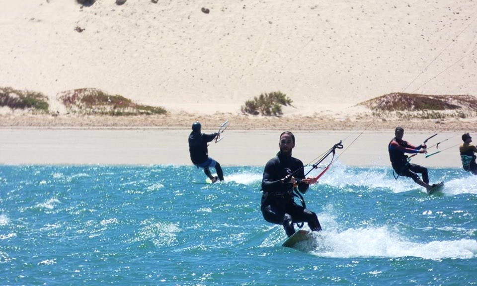 Kitesurfing Lessons with Professional Instructor in Dakhla, Western Sahara
