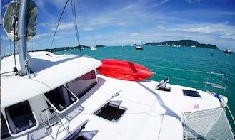 Cruising Catamaran with 4 Cabin for Charter  in Tambon Chalong