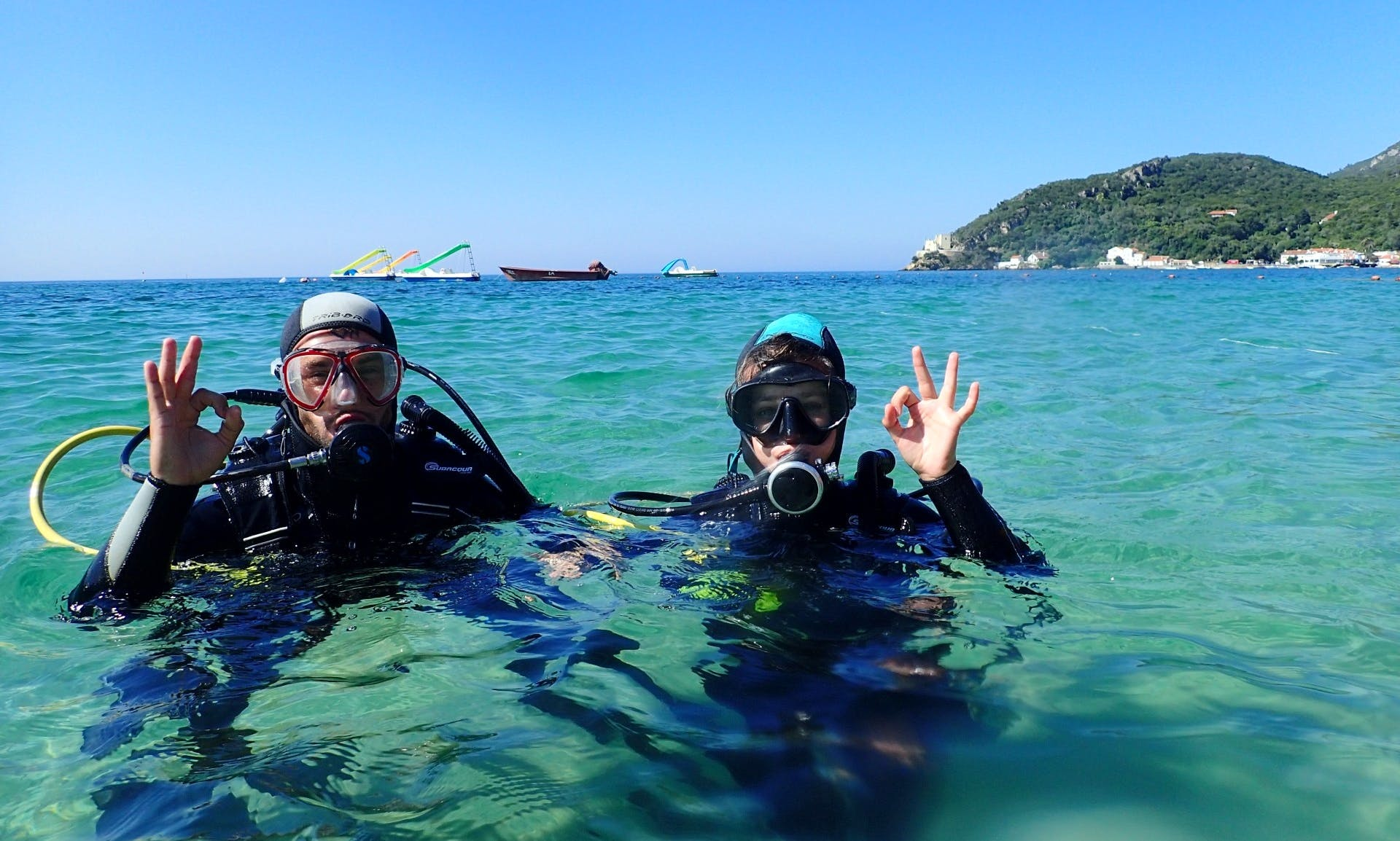 Diving Lesson with Certified Instructor in Baixa da Banheira, Setúbal