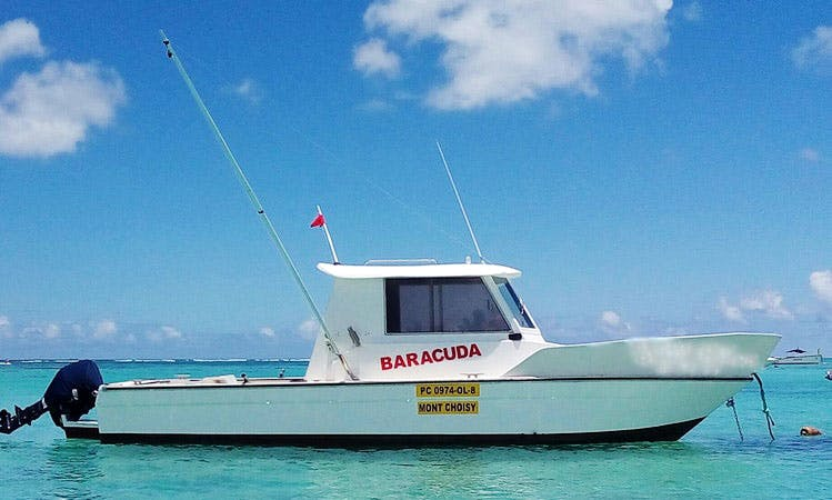 Fishing Boats Rental for 4 People in MONT CHOISY - ILE MAURICE