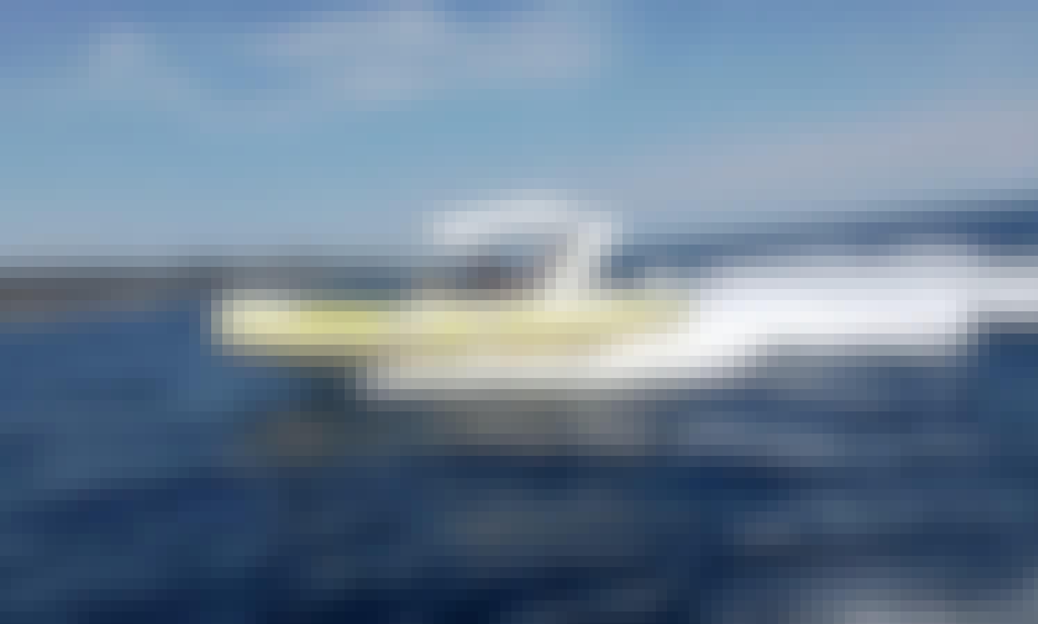 Barracuda Speedboat Skippered Tour or Airport Transfers in Hvar and Split, Croatia