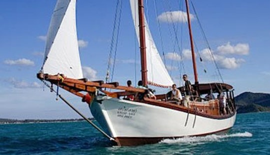 63' Traditional Indonesian Sailing Yacht Charter In Ko Tao