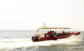 Rigid Inflatable Boat High Speed Ocean Rafting