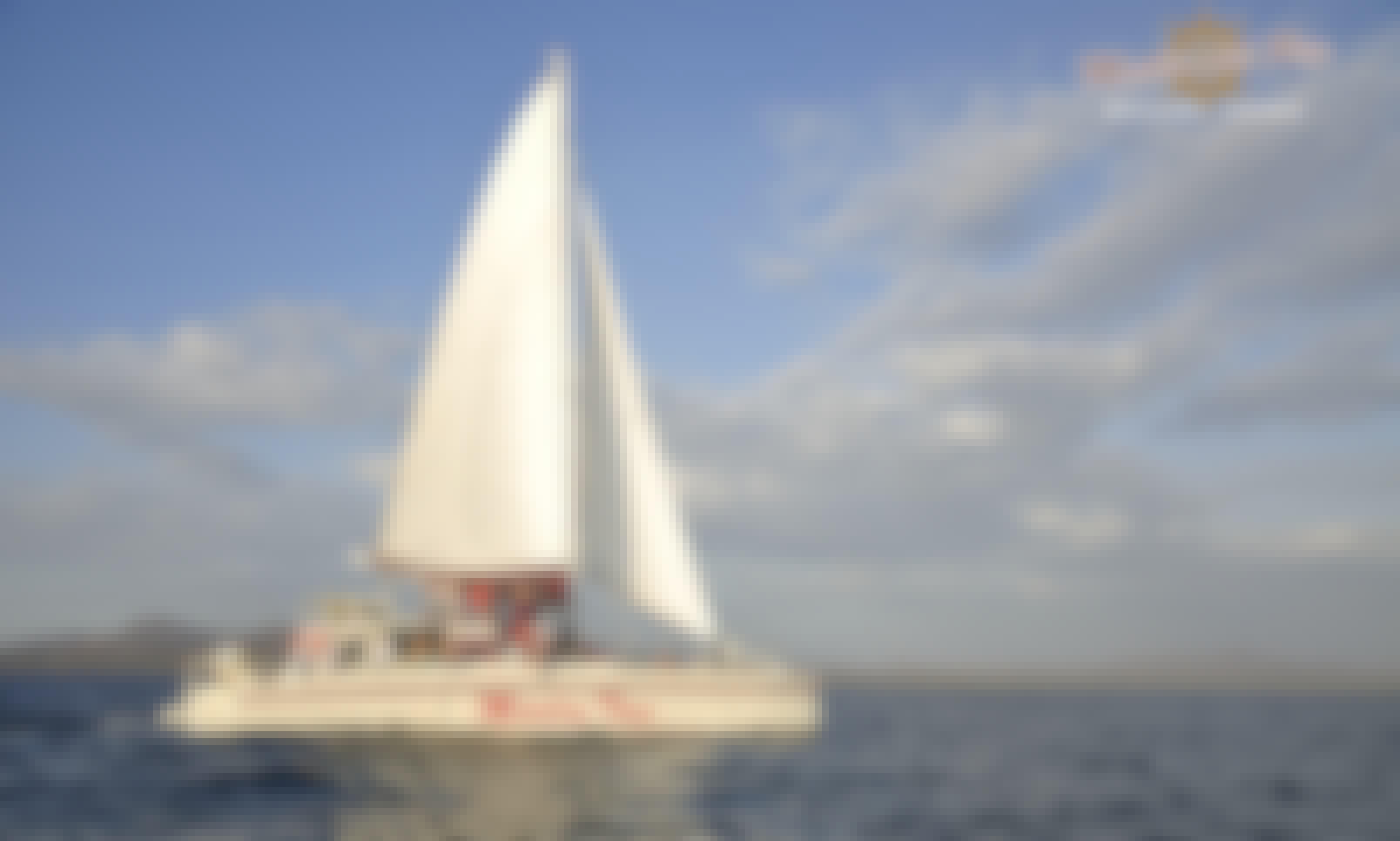 """Marlin Tres"" 65ft Sailing Catamaran in Playa Flamingo"