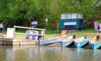 Canoes for Hire at Salhouse Broad