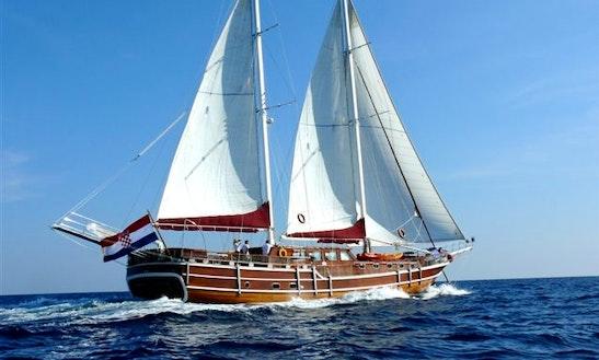Luxury Gulet Charter 'nostra Vita' In Dubrovnik