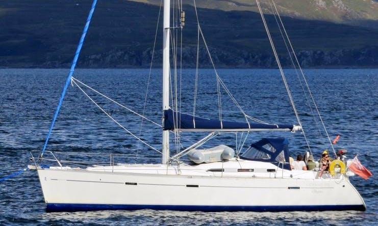 Skippered or Bareboat Charter - Beneteau 393 Sailing Yacht in Scotland