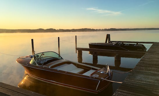 Rent An Frauscher Valencia 560 Electric Boat For Up To 6 People In Bad Saarow, Germany