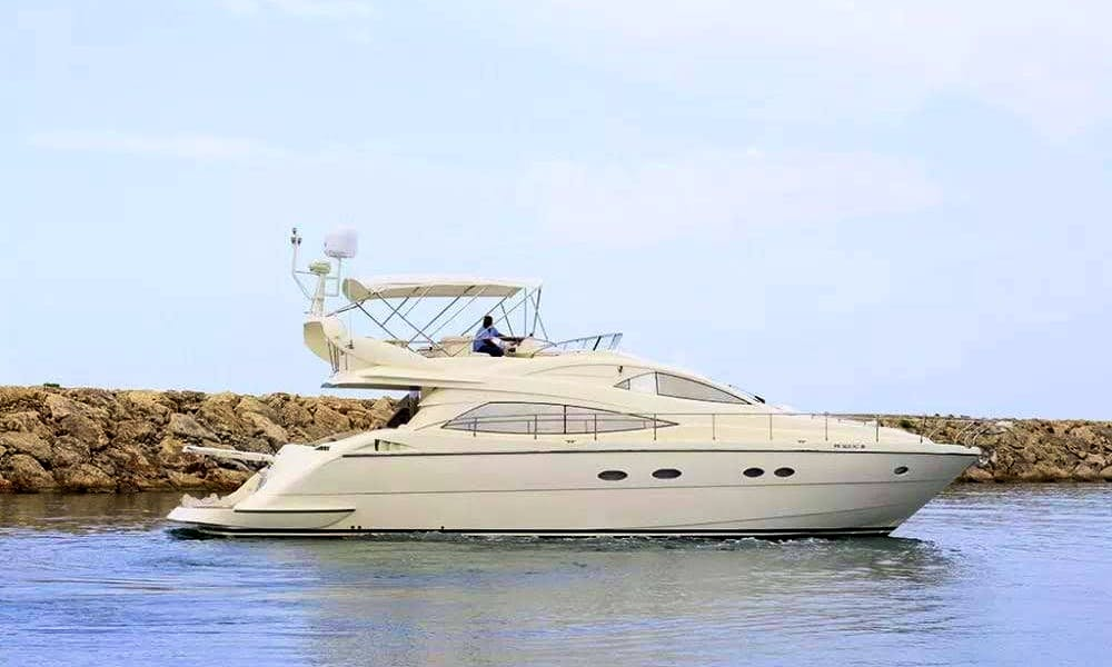 Aicon Yacht rental in Casa de Campo