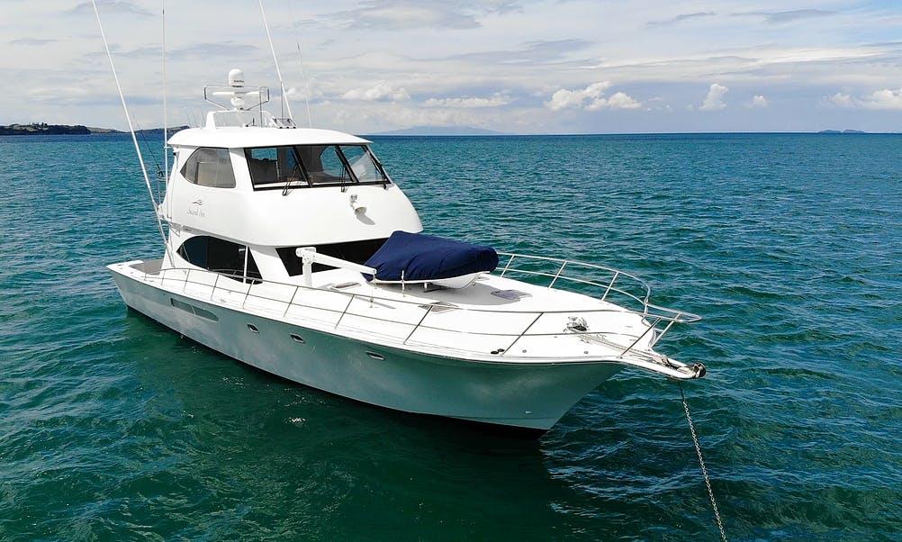 Motor Yacht charter Gulf Harbour, Whangaparaoa, NZ