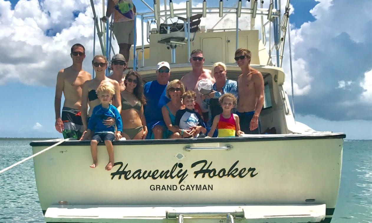 Fishing Charter for 12 People in Cayman Islands