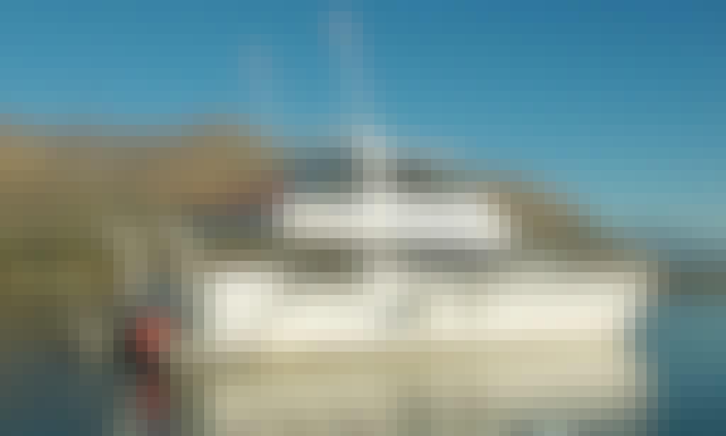 "Lake Wanaka Cruises on 52ft Power Catamaran ""Dual Image"""