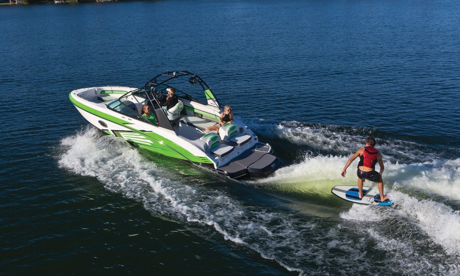 Stylish 2017 23' Twin Supercharged Jet Boat