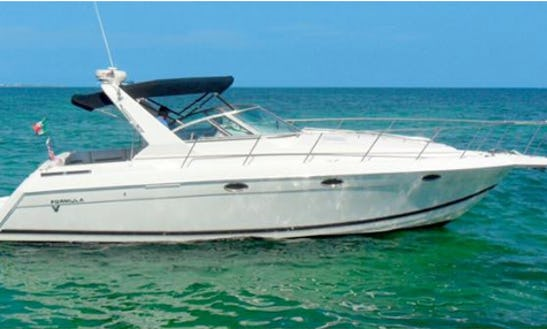 Explore Cancún, Mexico With Formula 34 Cuddy Cabin Yacht