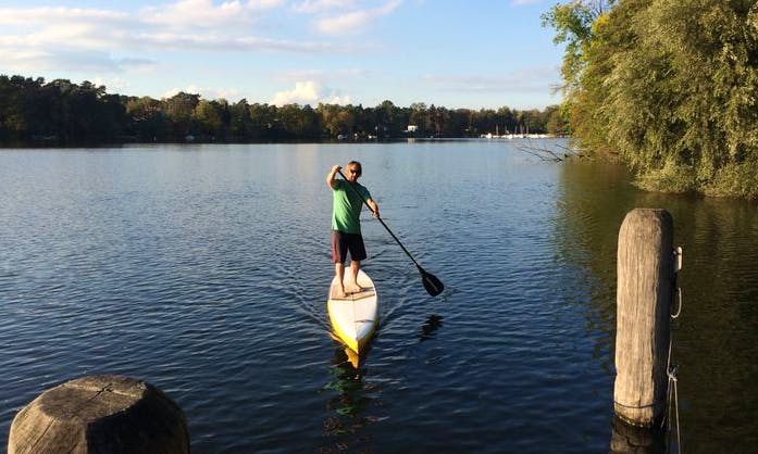 Stand-up Paddleboard Rental in Bad Saarow, Germany