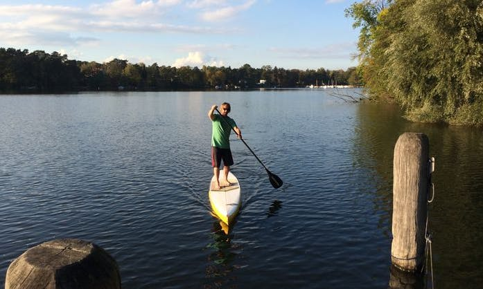 Stand-up Paddleboard Rental in Bad Saarow, Germany