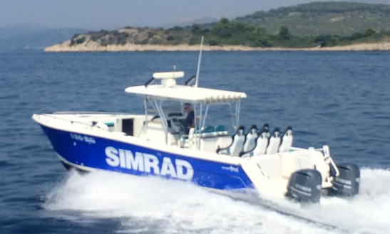 Prokat 3660 Power Catamaran Rental For Up To 12 People In Split, Croatia