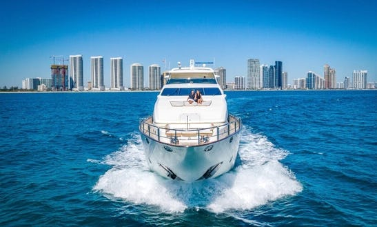 Yacht Party Rental In Miami - 116' Azimut!
