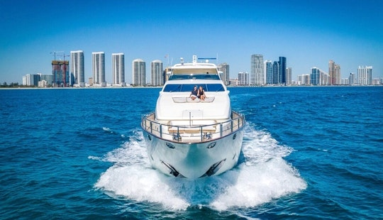 Rent A Yacht In Miami - 116' Azimut - Miami, Florida Keys, The Bahamas!
