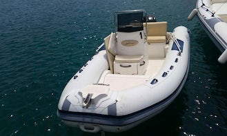 Hire and Drive a 490 Sea Dragon Inflatable Boat in Giardini Naxos