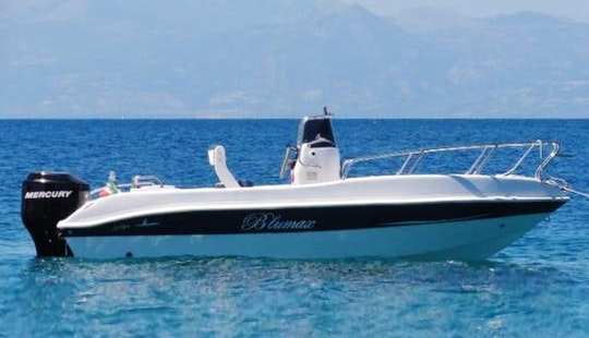 Blueline Open 19 Powerboat - 6 People Capacity In Giardini Naxos