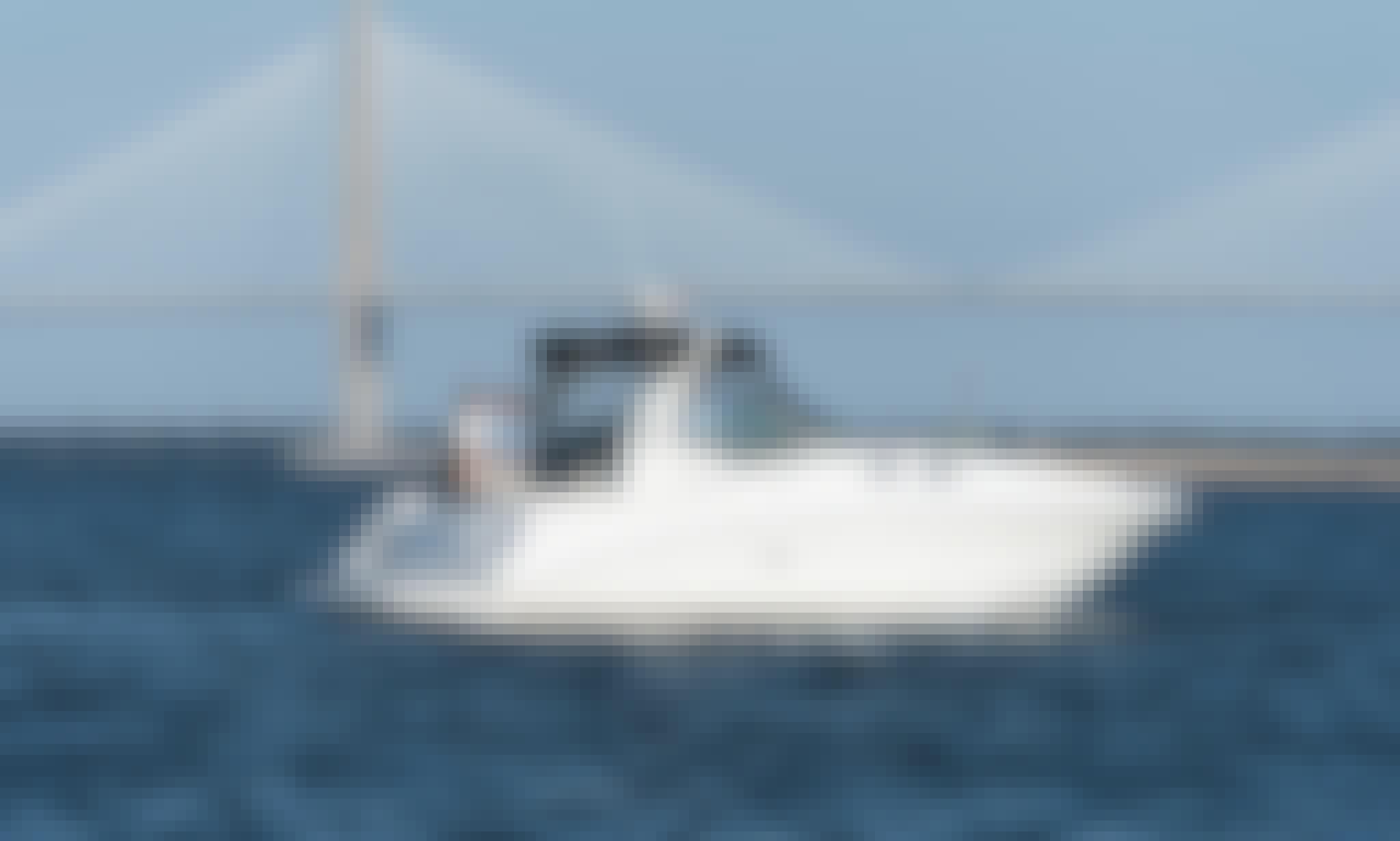 32ft Sea Ray Sundancer Motor Yacht Charter for 6 People in Charleston,SC