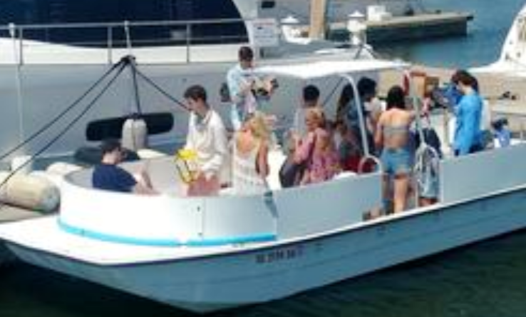 28 Carolina Skiff Deck Boat Rental For Up To 18 People In