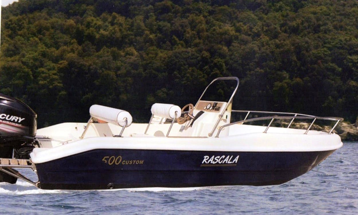 Rascala 500 Custom Powerboat in Giardini Naxos