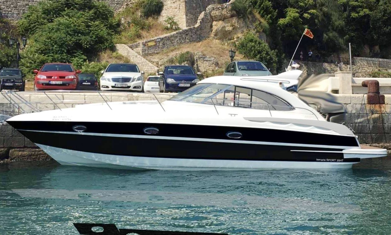 Bavaria 35 HT Motor Yacht Charter for Up to 8 People in Ulcinj, Montenegro
