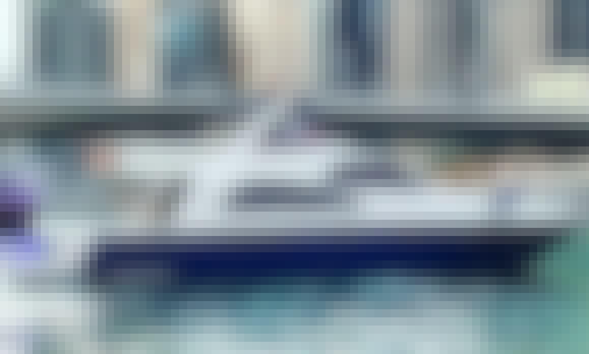 Polina 55 Motor Yacht Charter for 18 People in Dubai, UAE