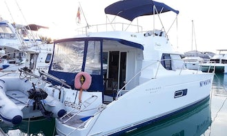 12-Person Motor Yacht Charter in Victoria, Seychelles
