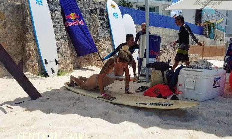 Group and Private Surf Lessons Offered in Cancún, Mexico